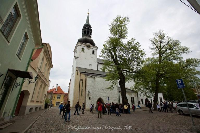 St. Mary's Cathedral, Tallinn, Estonia.