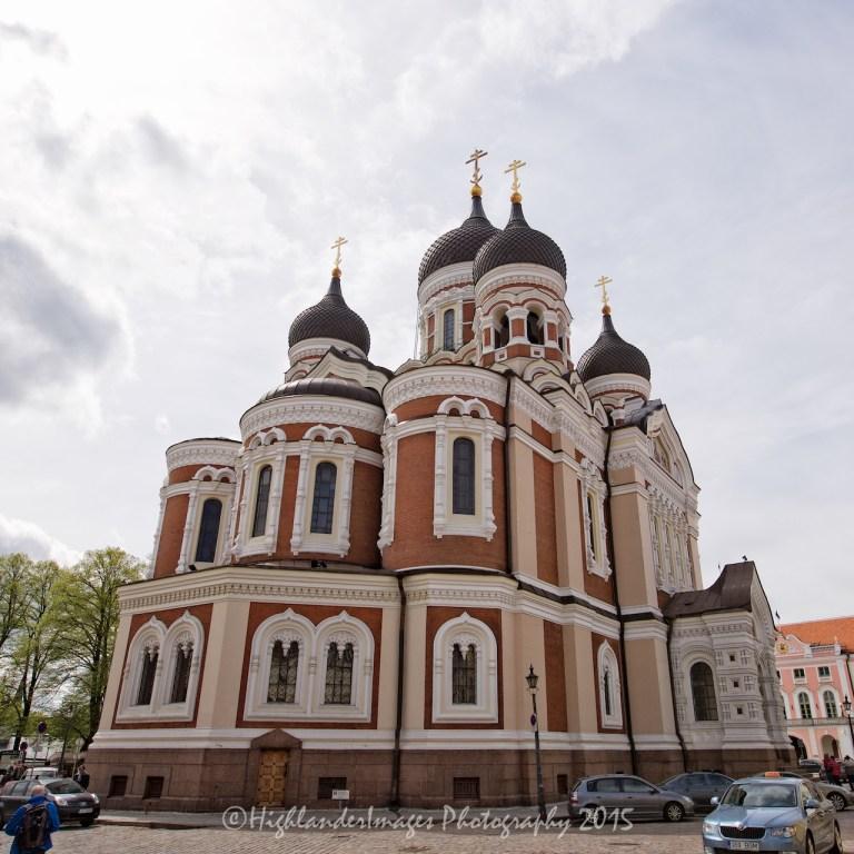 Aleksander Nevski Cathedral, Tallinn, Estonia