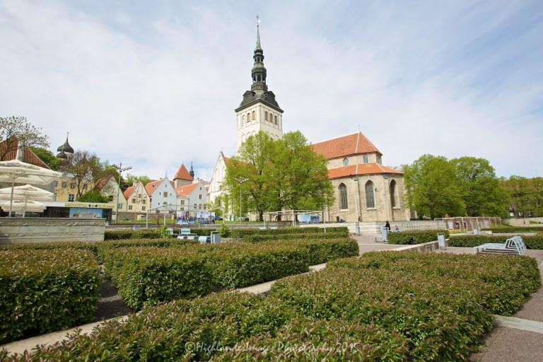 St. Nicholas Church, Tallinn, Estonia.