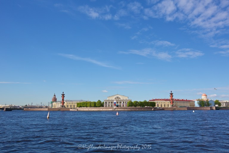 Hydrofoil from St. Petersburg to Peterhof, Russia.
