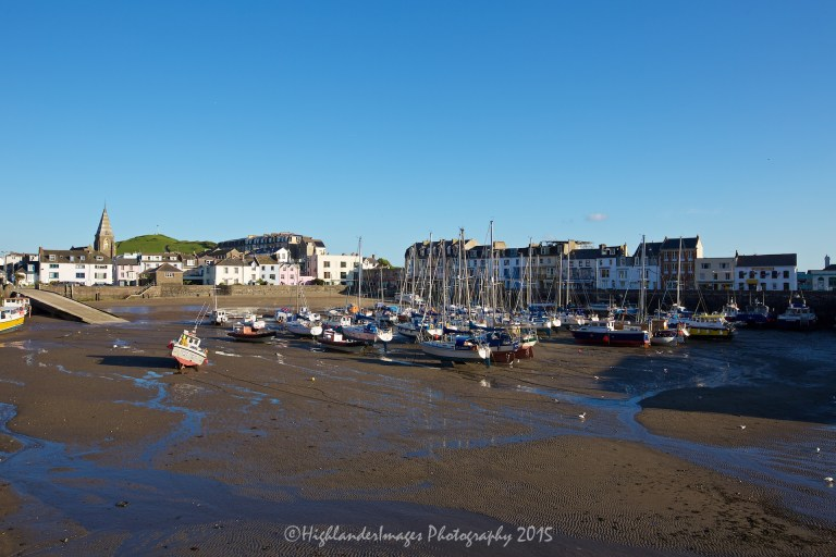 Ilfracombe harbour, Ilfracombe, Devon, UK.