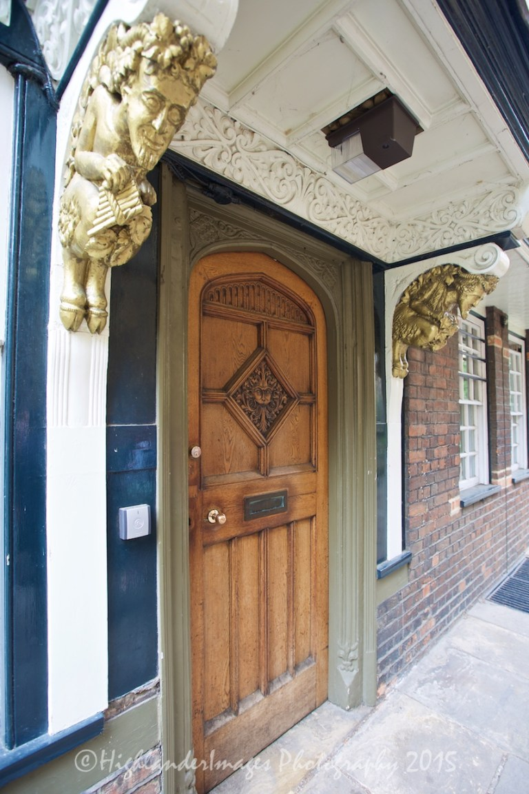 """Narnia Door, Brasenose College, Oxford University, Oxford, UK"