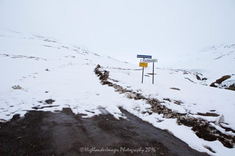 Road 953 to Mjóifjörður, Iceland