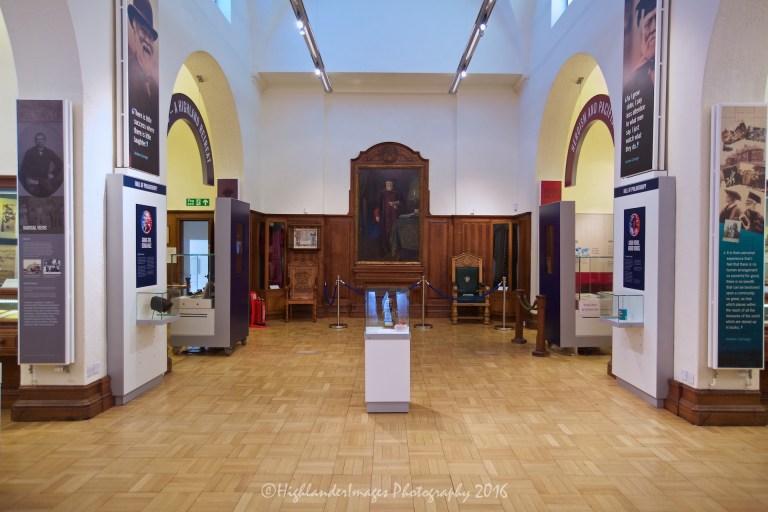 Andrew Carnegie's birthplace, Dunfermline, Scotland