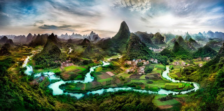 Deep in the Guangxi Province of China-X3