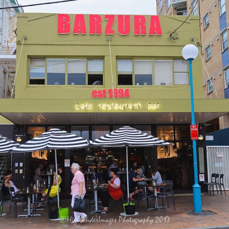 Barzura Cafe Restaurant Bar, Coogee Beach, Sydney, Australia