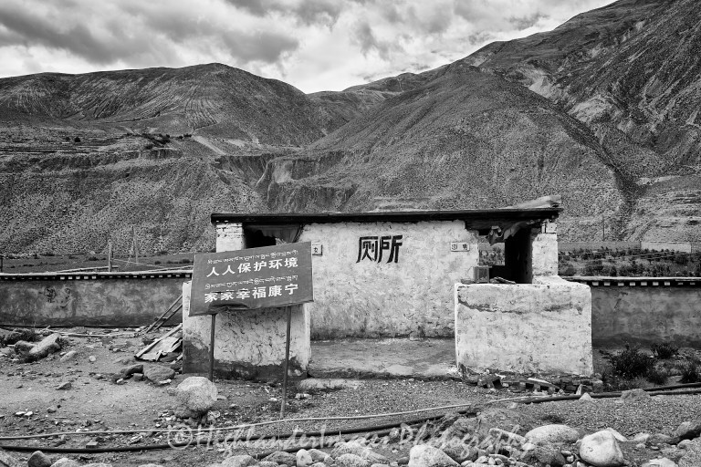 Road from Shigatse to Namtso Lake, Tibet
