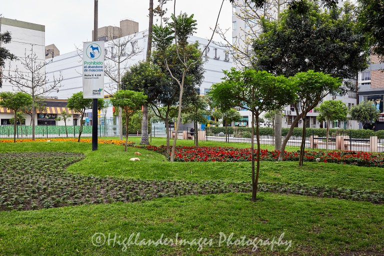 Parque Central de Miraflores, Lima, Peru