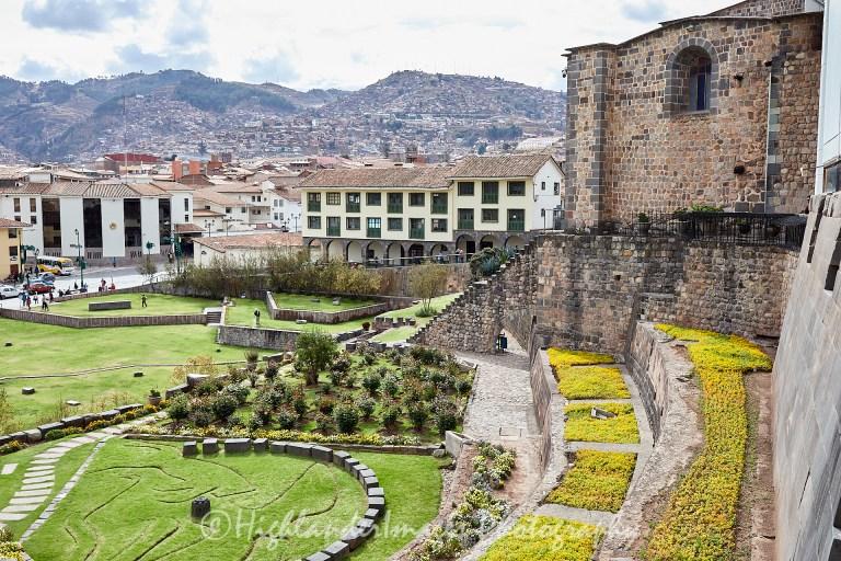 Qoricancha, Temple of The Sun, Cusco, Peru