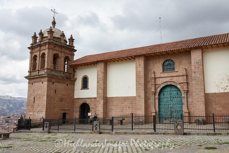 San Cristobal Church, Cusco, Peru