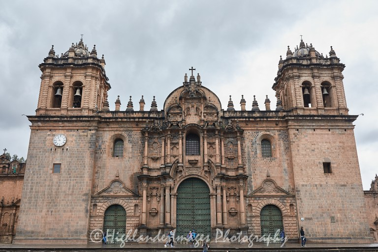 Cathedral de Santa Domingo, Cusco, Peru