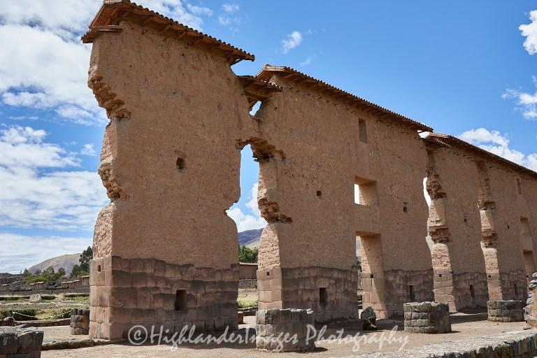 Raqchi Archeological Site, Raqchi, Peru