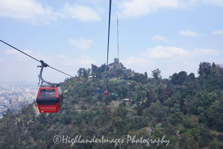 San Cristobal Hill, Santiago, Chile