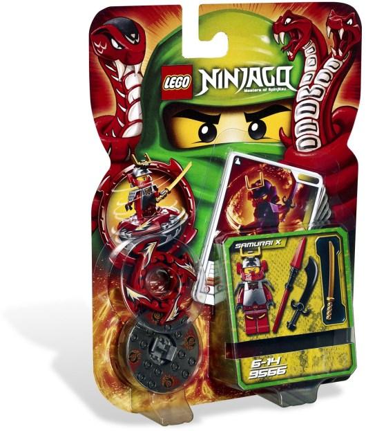 9566 Ninjago Samurai X