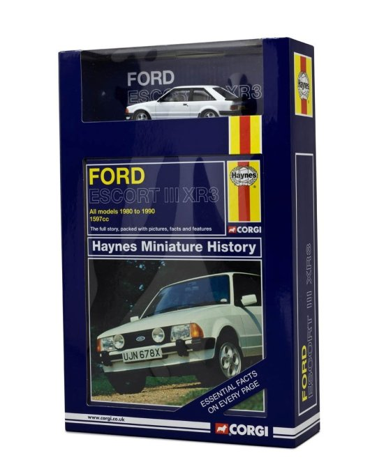 Corgi Haynes Miniature History - Ford Escort III XR3