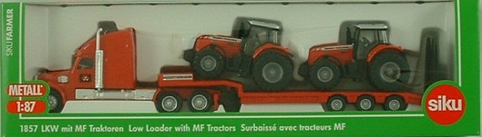 1857 Low Load with MF Tractors