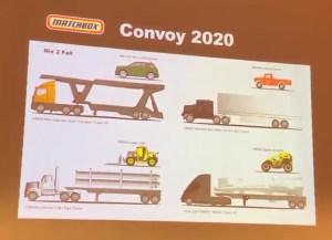 Matchbox Convoy 2020