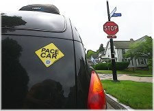 Neighborhood Pace Car Program  - Introduced in 2015. Click to Learn More.