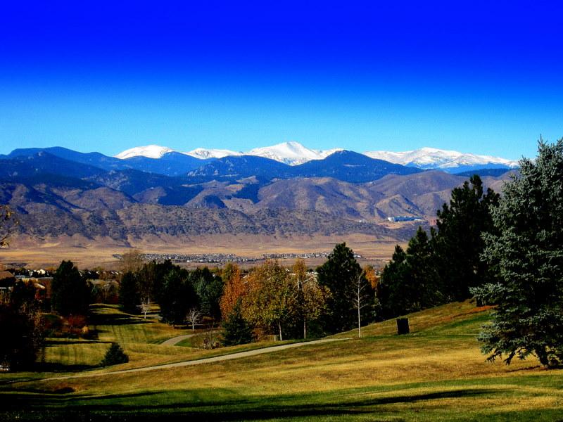 View of Mt. Evans