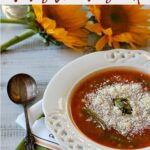 Nicks Italian Cafe Minestrone Soup