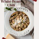 Giada's Chicken and White Bean Chili with Swiss Chard