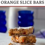 Orange slice dessert bar recipe