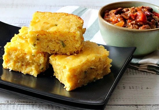 Jalapeno Buttermilk Cornbread Recipe. The best recipe I've found. Moist and wonderful.
