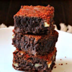 Orange Chili Chocolate Brownies