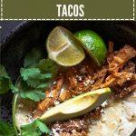 Crockpot Pulled Pork Tacos