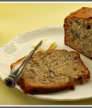 Old Fashioned Banana nut bread recipe