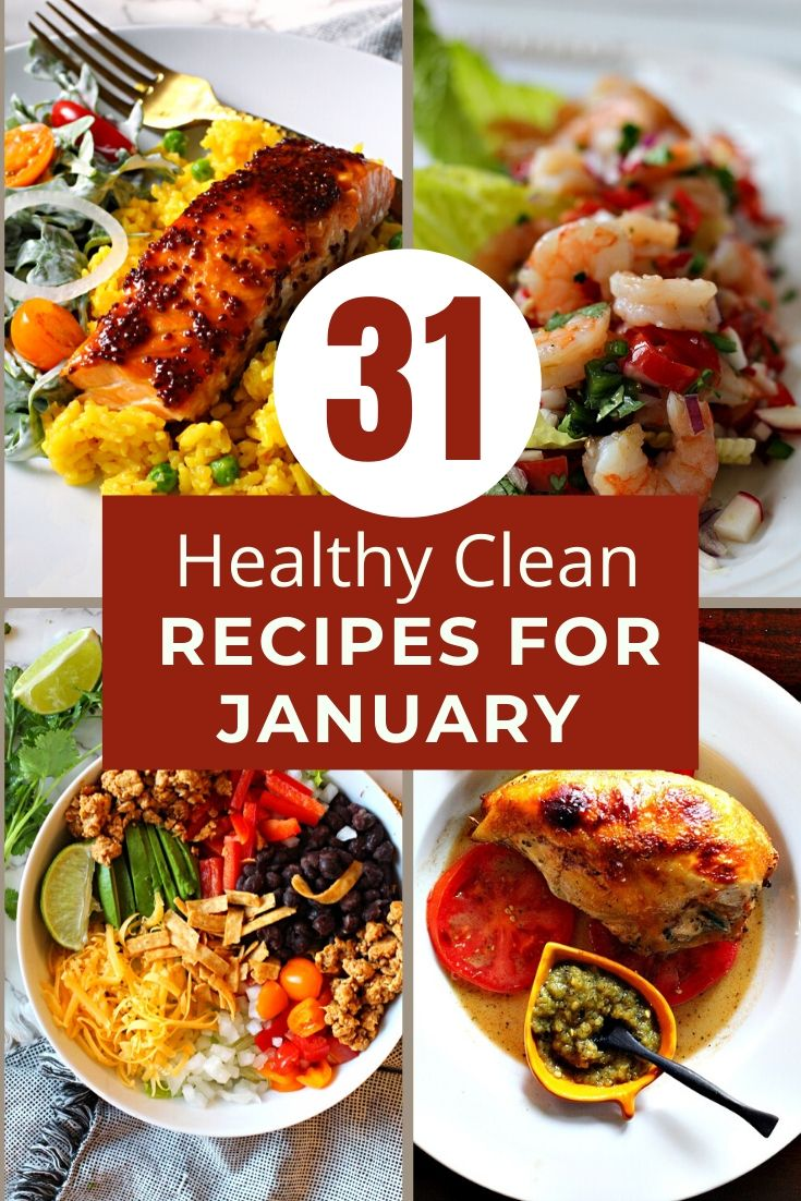 31 healthy recipes to start the new year out right.