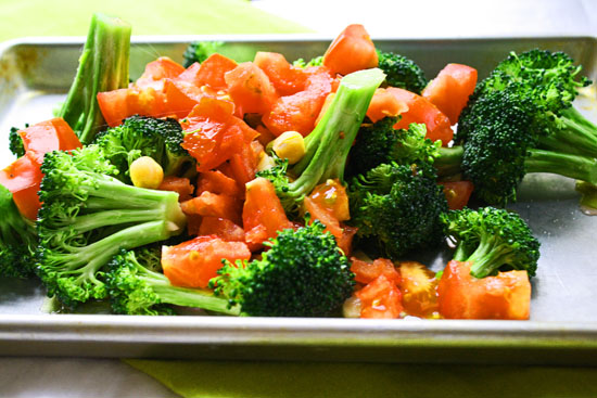 Broccoli Tomato Side Dish