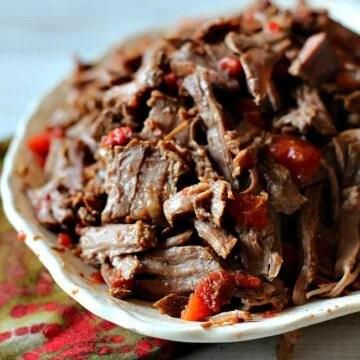 Crockpot Shredded Beef for tacos