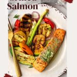 simple grilled salmon with lemon dill sauce