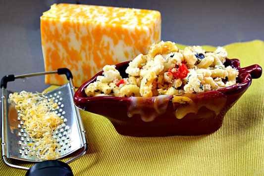 dish of Hatch Green Chile Macaroni and Cheese