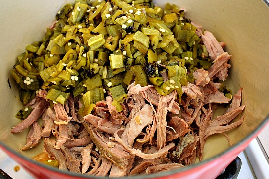 How To Make Hatch Green Chili Colorado With Pork Cooking On The Ranch