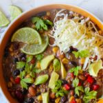 Easiest soup ever taco soup