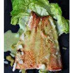 Sauteed Salmon with Preserved lemon vinaigrette