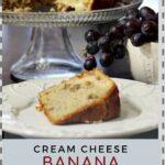 Cream Cheese Banana Coffee Cake
