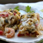 Shrimp Burrito Con Queso