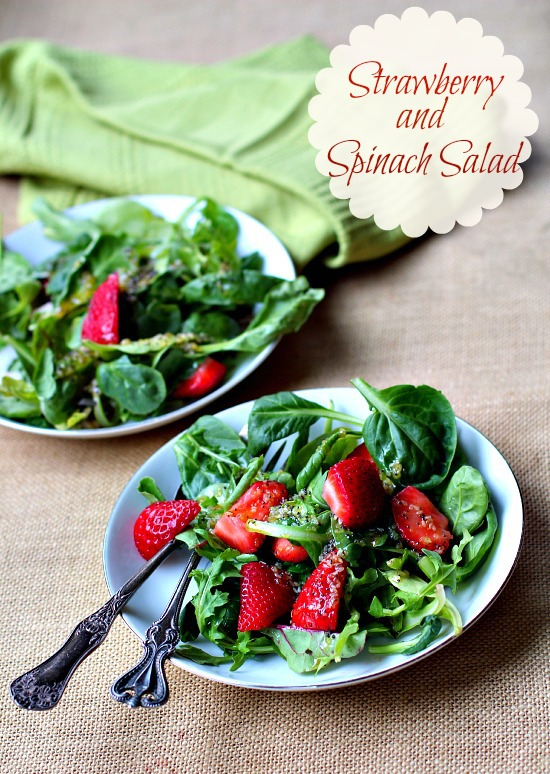 The only strawberry spinach salad recipe you'll ever need