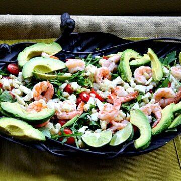 Shrimp Salad with Hominy