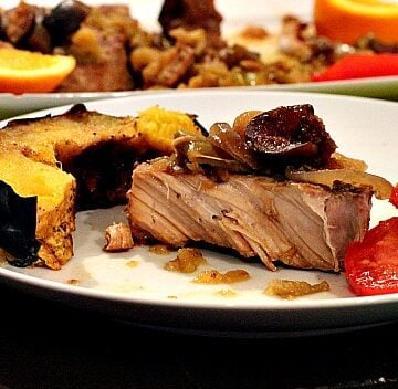 Easy Crock-pot Pork Chops with Apples and Figs