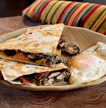 Recipe for Breakfast Quesadilla