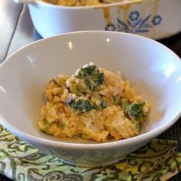 Old fashioned broccoli casserole recipe