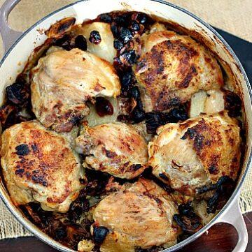 Braised chicken thigh recipe