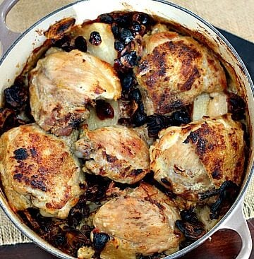 Braised chicken thigh recipe