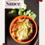 How to make new mexico green chile sauce