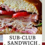 Sub-club party sandwich