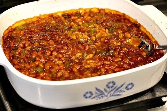 Oklahoma baked beans Junior League